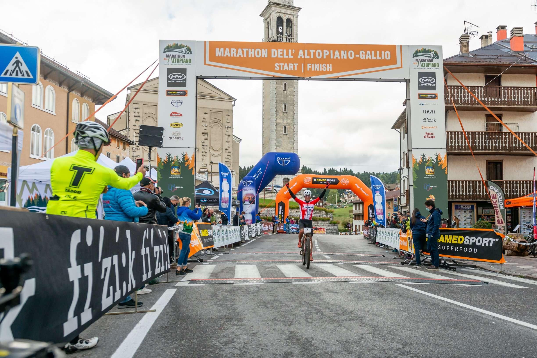 GALLIO - 27 SETTEMBRE 2020: Marathon dell'Altopiano 2020. (Photo by Riccardo Andolfo - Nicolò Zangirolami/YAK Agency). Nella foto: